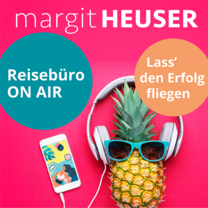 Podcast-Cover: Reisebüro on air - Lass' den Erfolg fliegen
