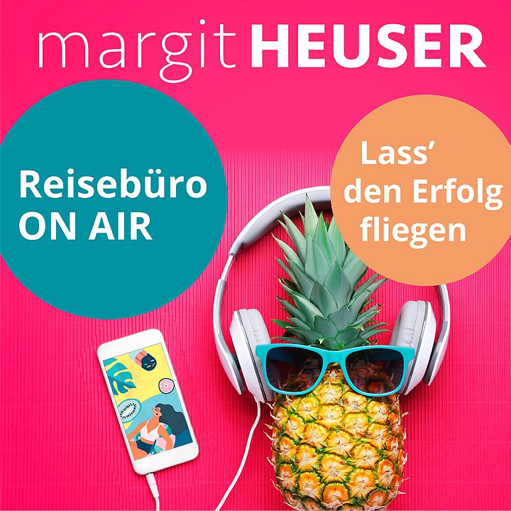 Podcast-Cover: Reisebüro on air - Lass' den Erfolg fliegen